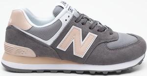 Buty sportowe New Balance w sportowym stylu sznurowane z płaską podeszwą