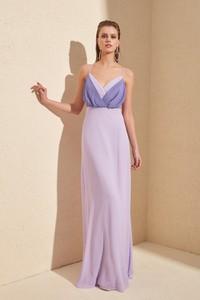 Fioletowa sukienka Trendyol maxi