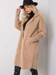Płaszcz Sheandher.pl w stylu casual z wełny