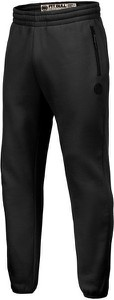 Czarne spodnie sportowe Pit Bull West Coast z dresówki