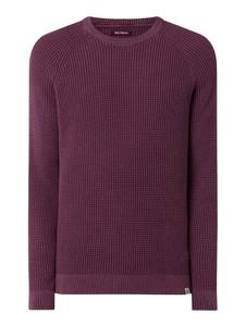 Fioletowy sweter McNeal z bawełny w stylu casual