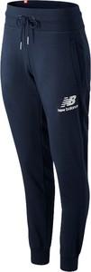 Spodnie New Balance w sportowym stylu z dresówki