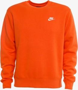 Pomarańczowa bluza Nike w stylu casual
