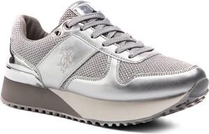Sneakersy U.S. Polo ze skóry ekologicznej