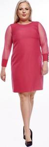 Sukienka Fokus mini z tkaniny