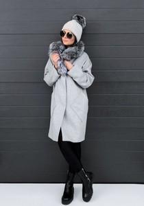 Płaszcz BOCA z wełny w stylu casual