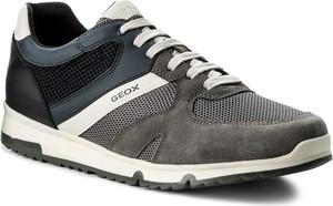 Sneakersy geox - u wilmer b u823xb 01422 c9af4 anthracite/navy