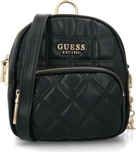 Czarna torebka Guess na ramię