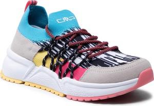 Buty sportowe CMP sznurowane ze skóry ekologicznej