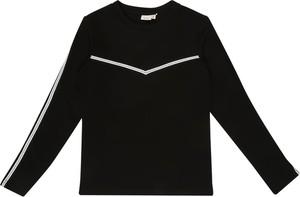 Czarna bluzka dziecięca Name it z długim rękawem