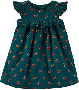 Sukienka dziewczęca Carter's z bawełny w kwiatki