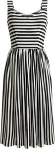 Czarna sukienka RISK made in warsaw