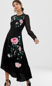 Sukienka Asos Design z okrągłym dekoltem