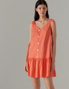 d45a397ca8 Pomarańczowe sukienki
