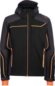Czarna kurtka CMP krótka z tkaniny