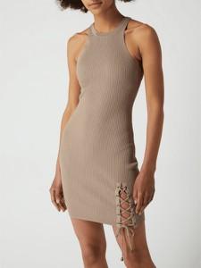 Brązowa sukienka Guess mini