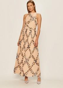 Sukienka Vila rozkloszowana w stylu boho
