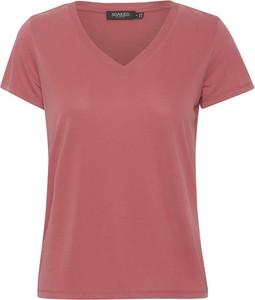 T-shirt Soaked in Luxury z dekoltem w kształcie litery v