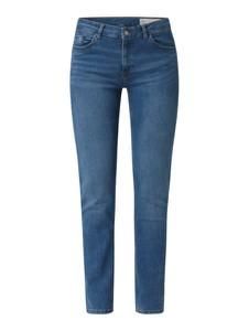 Granatowe jeansy Esprit w stylu casual z bawełny