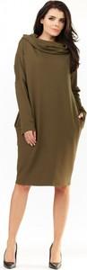 Sukienka Infinite You z bawełny z długim rękawem oversize