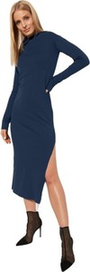 Sukienka CAHA z długim rękawem z bawełny