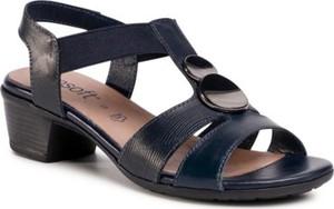 Granatowe sandały Go Soft