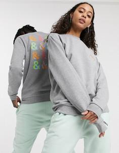 Bluza Asos z dresówki z nadrukiem