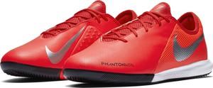 Czerwone buty sportowe Nike Football sznurowane