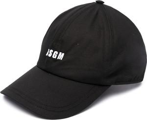 Czarna czapka MSGM