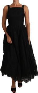 Czarna sukienka Dolce & Gabbana