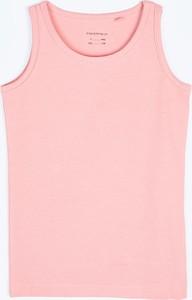 Koszulka dziecięca Gate na ramiączkach z bawełny