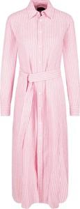 Sukienka POLO RALPH LAUREN z lnu w stylu casual