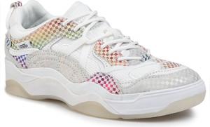 Sneakersy Vans sznurowane na platformie