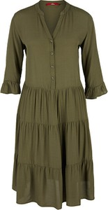 Zielona sukienka S.Oliver