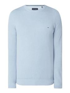 Sweter Christian Berg Men z bawełny w stylu casual