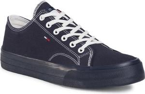 Tommy Jeans Tenisówki EM0EM00486 Granatowy