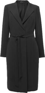 Czarny płaszcz Stylein