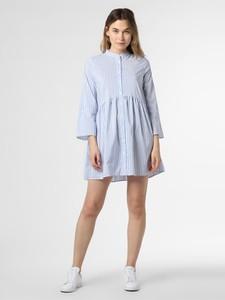 Niebieska sukienka Only mini z długim rękawem
