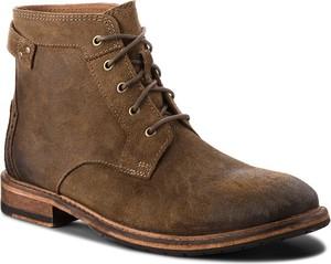 Buty zimowe Clarks w stylu casual sznurowane