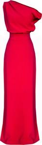 Czerwona sukienka Kasia Zapała maxi