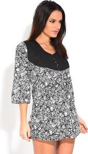 Bluzka Namaste z bawełny w stylu casual