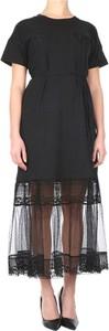 Sukienka Twinset maxi z okrągłym dekoltem