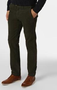 Zielone spodnie Finshley & Harding ze sztruksu