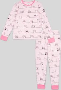 Różowa piżama Here And There