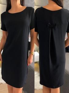 Sukienka ModnaKiecka.pl w stylu casual prosta mini