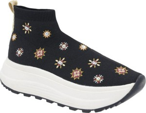 Buty sportowe Desigual w młodzieżowym stylu na platformie z nadrukiem