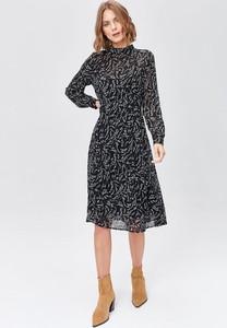 Sukienka FEMESTAGE Eva Minge z długim rękawem midi