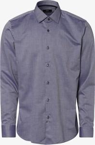 Koszula Hugo Boss z klasycznym kołnierzykiem z bawełny