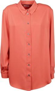 Pomarańczowa koszula Calvin Klein w stylu casual