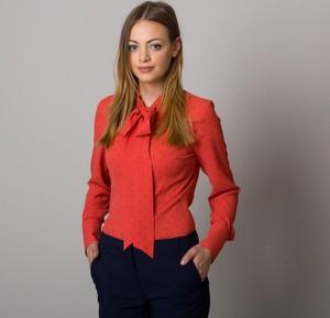 Czerwona bluzka Willsoor w stylu casual